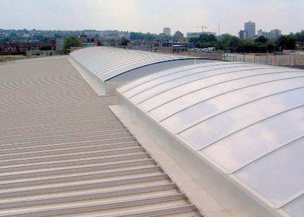 20 Year Academy School. Metal roof installation. New Build.